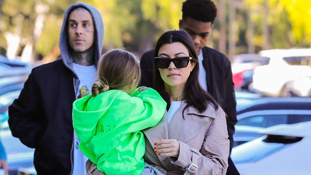 Kourtney Kardashian is moving on! The reality star is dating 'Blink-182's Travis Barker, and the pair are even both vacationing in Palm Springs.