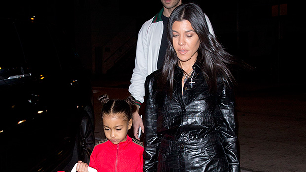 Kourtney Kardashian & North West
