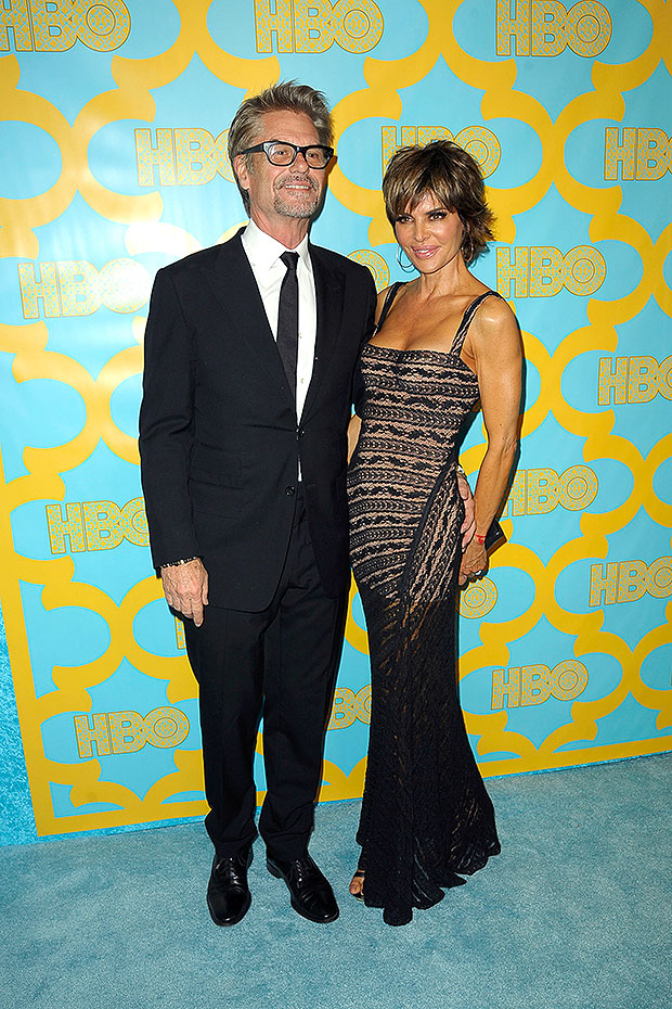Harry Hamlin and Lisa Rinnna