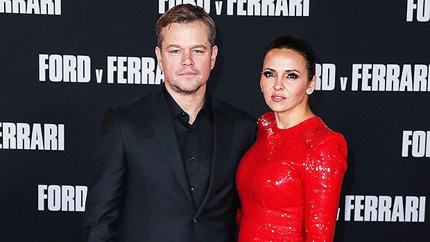 Matt Damon & Wife