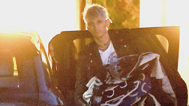 Megan Fox Helps Machine Gun Kelly Pack Up His Belongings As They Seemingly Move In Together — Pics