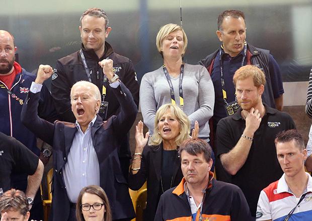 Prince Harry & The Biden family