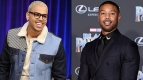 Chris Brown & Michael B. Jordan