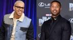 Chris Brown & Michael B. Jordan