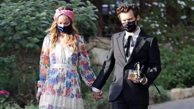 Harry Styles & Olivia Wilde's Wedding Date: See The Hand-Holding Pic That Sent Fans Into A Frenzy