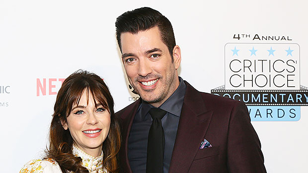 Zooey Deschanel Gushes Over BF & '2020 MVP' Jonathan Scott As They Share A Sweet Snuggle — See Pics