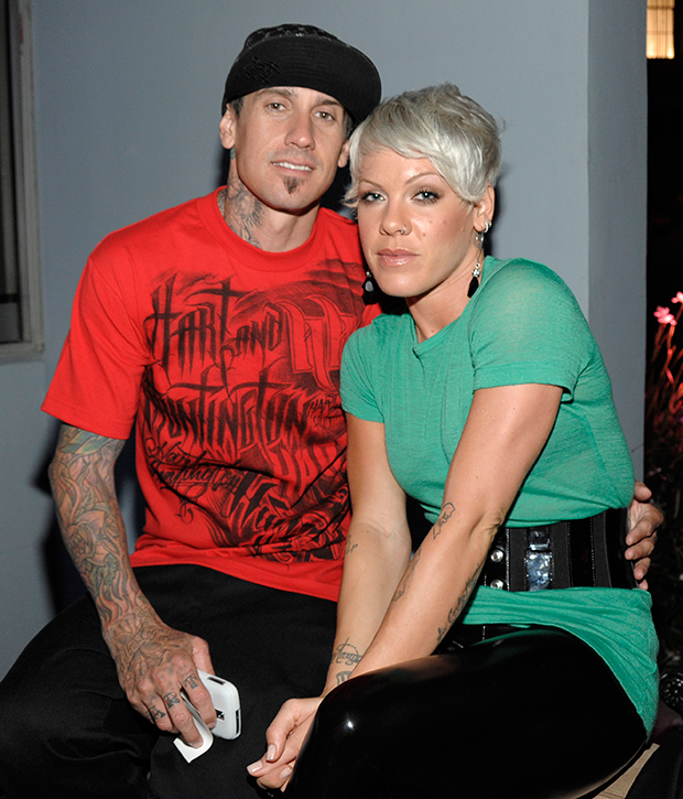 Pink & Carey Hart