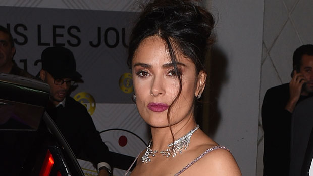 Salma Hayek Shakes Her Drenched Hair After Getting Soaking Wet In Low-Cut Swimsuit — Watch.jpg