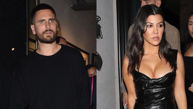 Scott Disick Leaves Flirty Comment On Kourtney Kardashian's Sexy Pics After Getaway With Amelia Hamlin