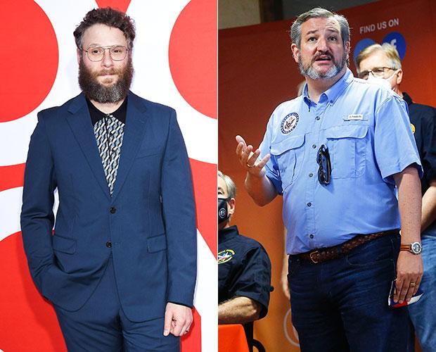 Seth Rogen Ted Cruz
