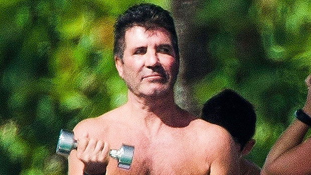 Simon Cowell, 61, Pumps Weights While Shirtless On A Boat In Barbados — Pic.jpg