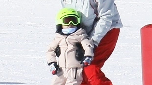 Stormi Webster, 2, Is Such A Big Girl As She Hits The Slopes For Ski Lessons In Colorado