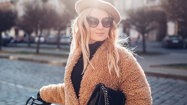 Shearling Teddy Coat For Women