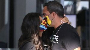 Teresa Giudice Kisses & Holds Hands With BF Luis As They Travel Home With Daughter Gia & Her BF