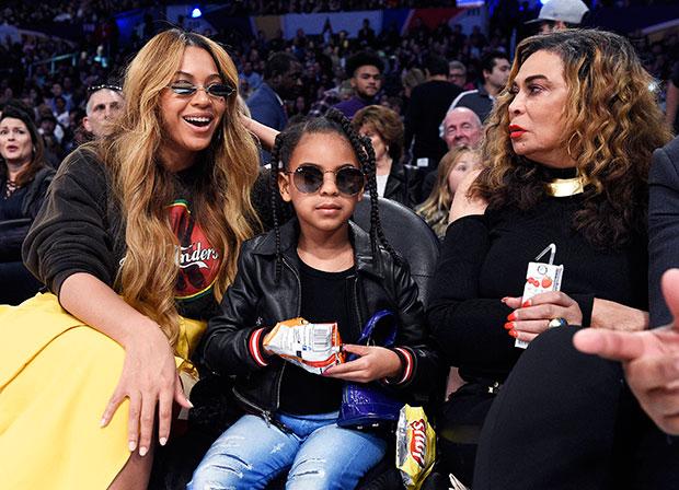 Beyonce, Blue Ivy & Tina Lawson