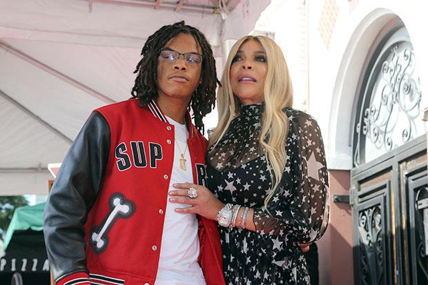 Wendy Williams & her son