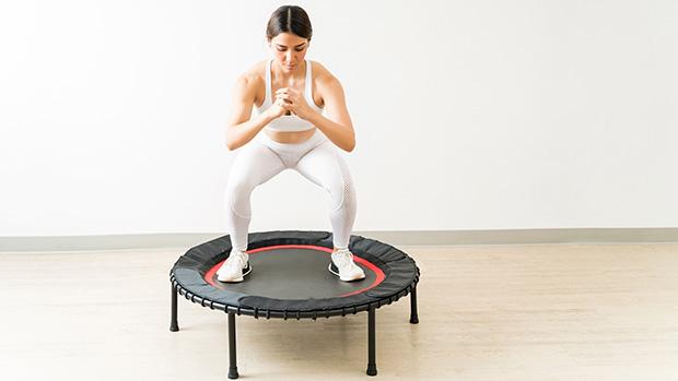 woman on mini trampoline adobe stock ftr