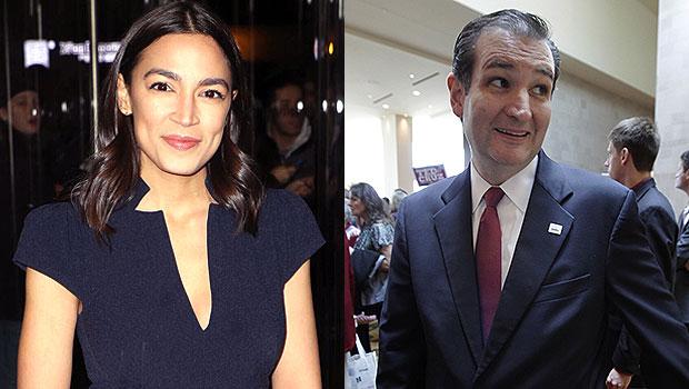Alexandria Ocasio-Cortez & Ted Cruz