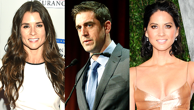 How Aaron Rodgers' Famous Exes Danica Patrick & Olivia Munn Feel About His Surprise Engagement
