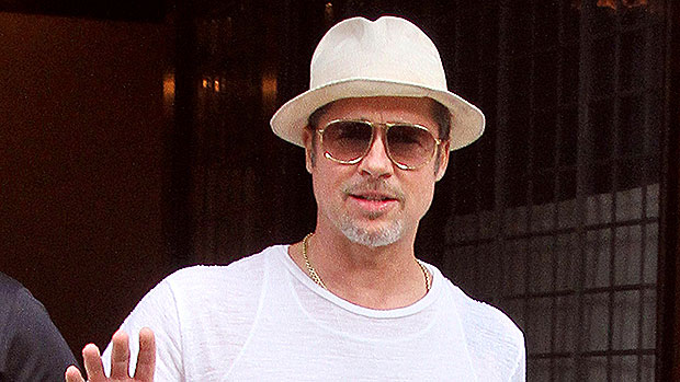 Brad Pitt Surprises Super Bowl Fans & Talks Up Brady & Mahomes In Special Game Day: Watch