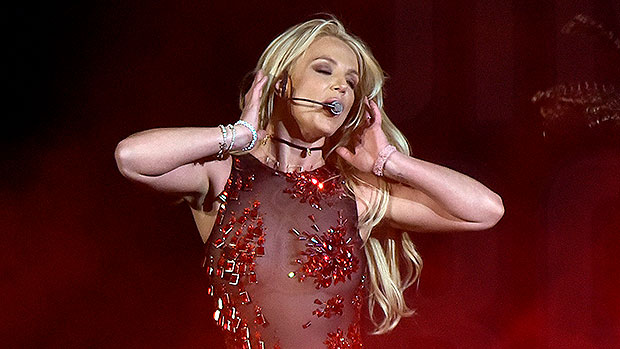 Britney Spears Breaks Into Energetic Dance Routine To Selena Gomez's 'Love You Like A Love Song'
