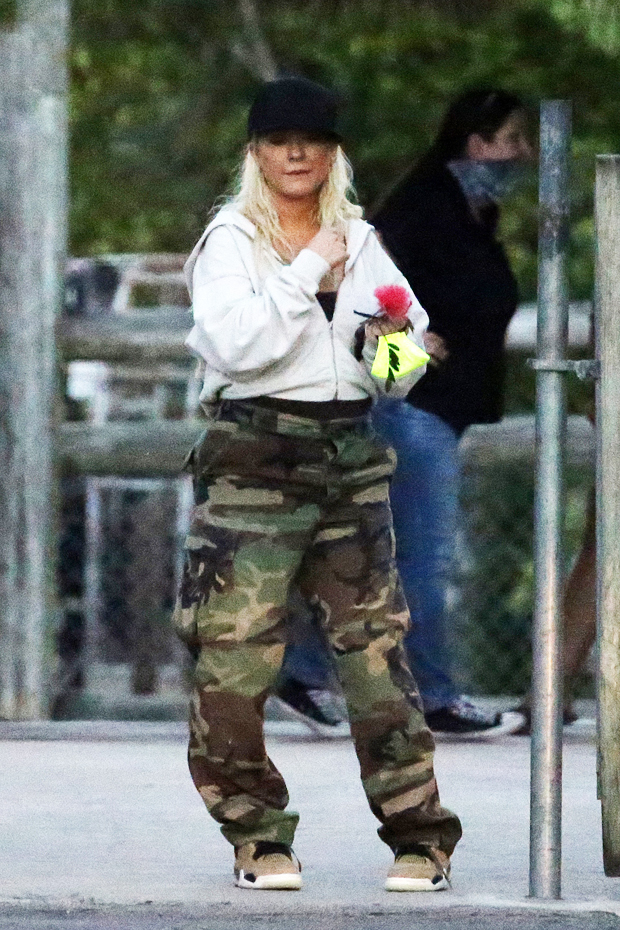 Christina Aguilera in Florida