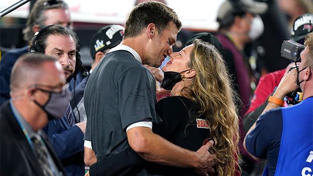 Gisele Bundchen & Tom Brady Super Bowl 2021