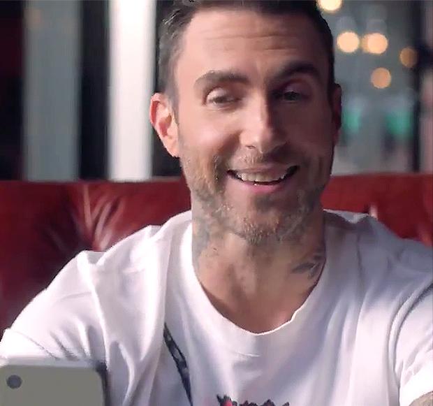 Adam Levine T-Mobile Commercial Super Bowl 2021