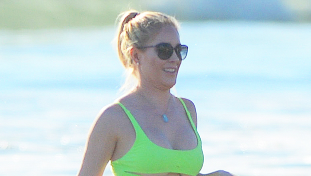 Heidi Montag Dances In Sparkly Bikini On Wild Night Out With Friends: Watch