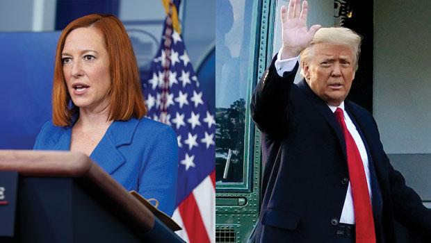 Joe Biden's Press Secretary Jen Psaki Shades Trump's Space Force & Funny GIFs Take Off On Twitter