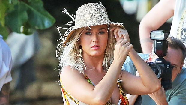 Katy Perry Stuns In Strapless One-Piece Swimsuit On Hawaiian Vacation With Shirtless Orlando Bloom - HollywoodLife