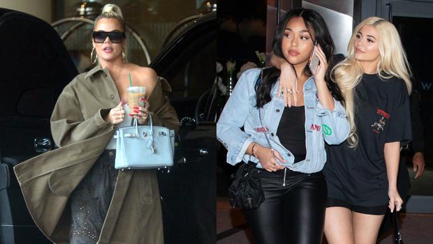 Khloe Kardashian, Jordyn Woods, Kylie Jenner