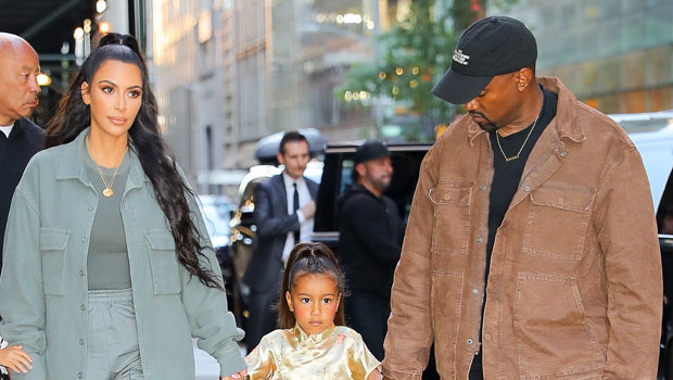 How Kim Kardashian Broke The News Of Her & Kanye's Divorce To Daughter North West, 7