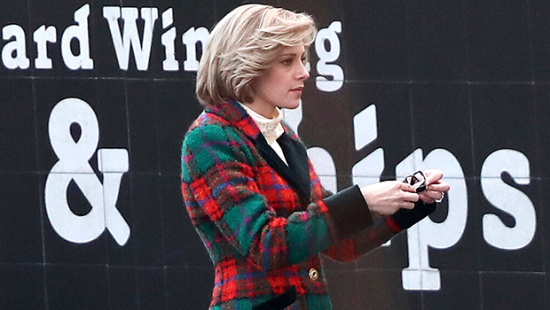 Kristen Stewart Looks Identical To Princess Diana On Set Of 'Spencer': See Comparison Pics