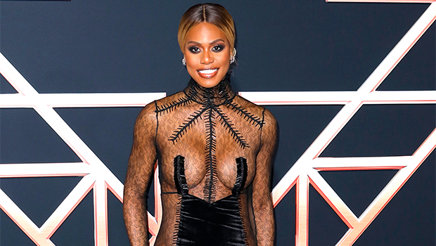 Laverne Cox on the red carpet