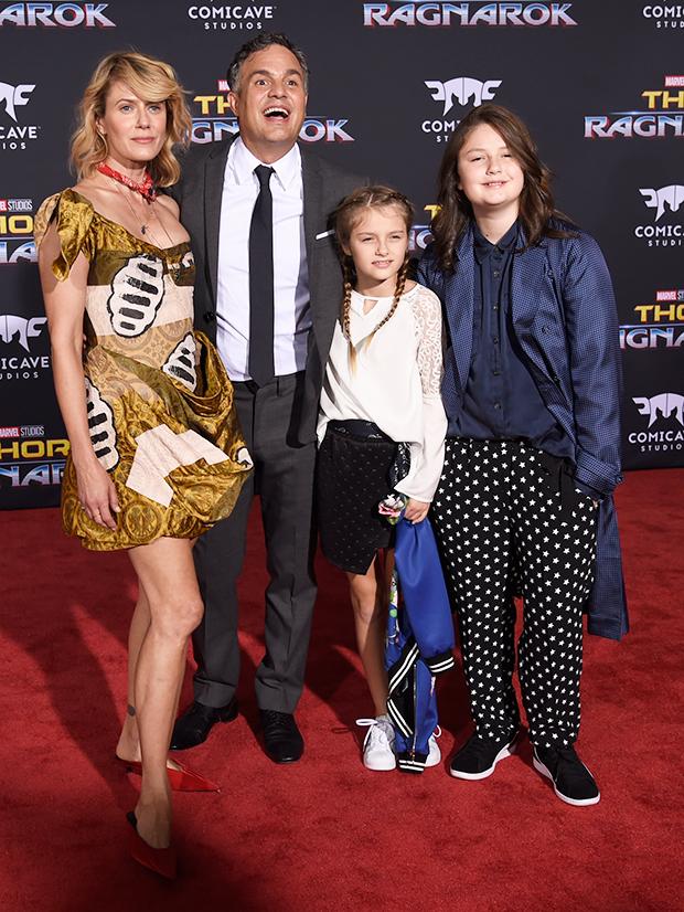 Mark Ruffalo Family