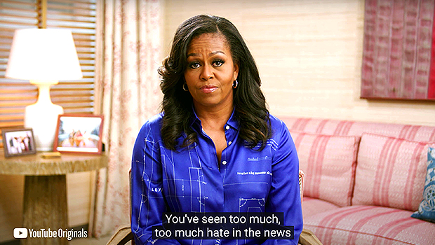 Michelle Obama Condemns Racist Behavior That's Gone 'Unpunished': 'It Leaves A Pit In Your Stomach'