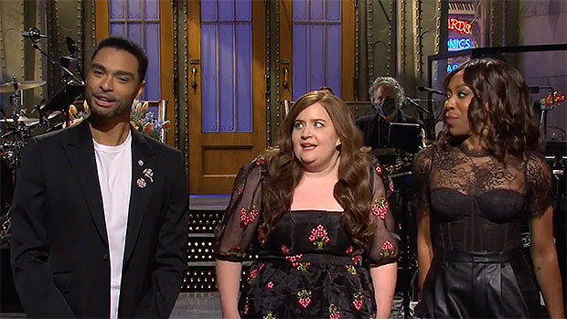 , 'Bridgerton's Steamy Regé-Jean Page Makes Aidy Bryant, Edo Nwodim & Chloe Fineman Swoon On 'SNL', Indian & World Live Breaking News Coverage And Updates