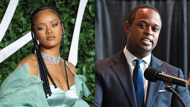 Rihanna and Daniel Cameron