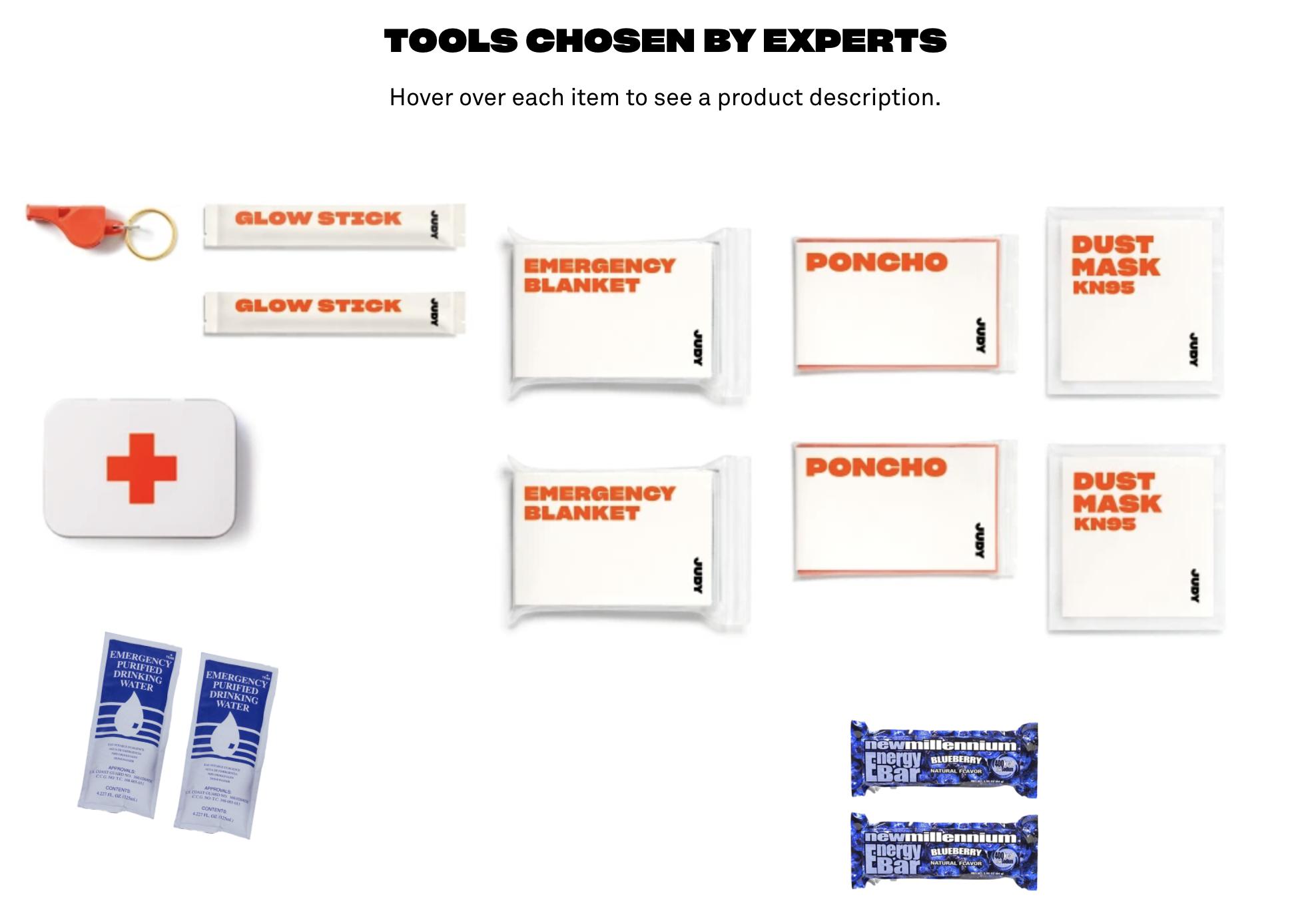 Judy Emergency Kit