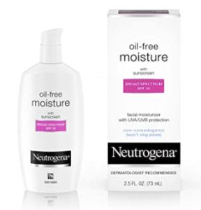 Neutrogrena Oil-free daily moisturizer with SPF 35