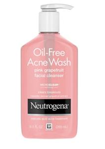 Neutrogena grapefruit acne face wash