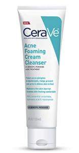 CeraVe acne foaming face wash