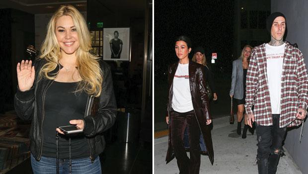 Shanna Moakler, Kourtney Kardashian, Travis Barker