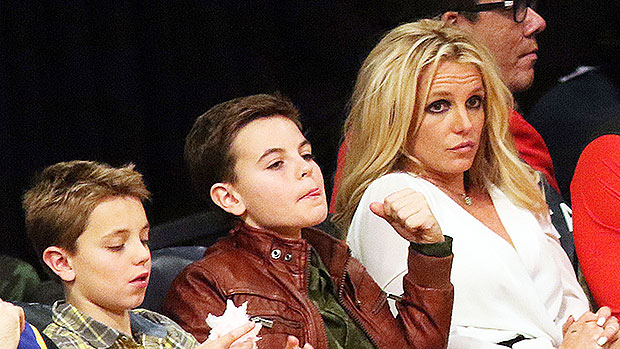 Britney Spears, Jayden James & Sean Preston