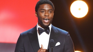 Chadwick Boseman's Wife Accepts His Golden Globe Win For 'Ma Rainey's Black Bottom' In Tears
