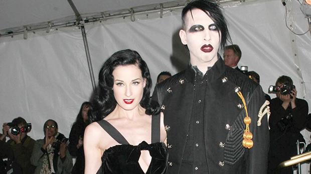 Dita Von Teese Marilyn Manson