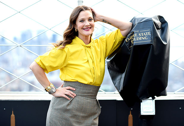Drew Barrymore in NYC