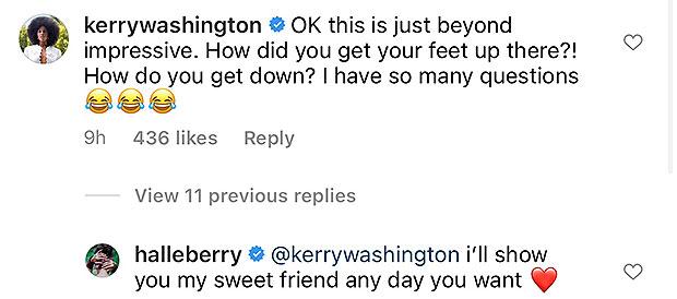 Kerry Washington, Halle Berry