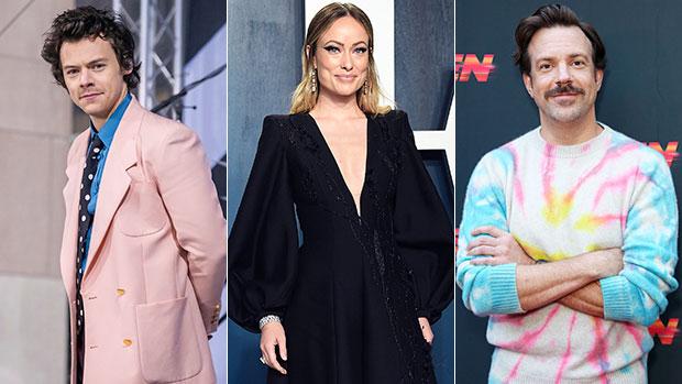 Harry Styles, Olivia Wilde & Jason Sudeikis